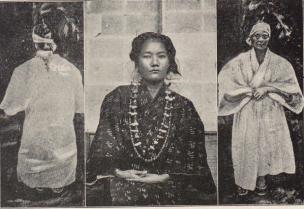 大正時代の神女